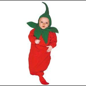 Rubie's Newborn Chili Pepper Bunting Costume